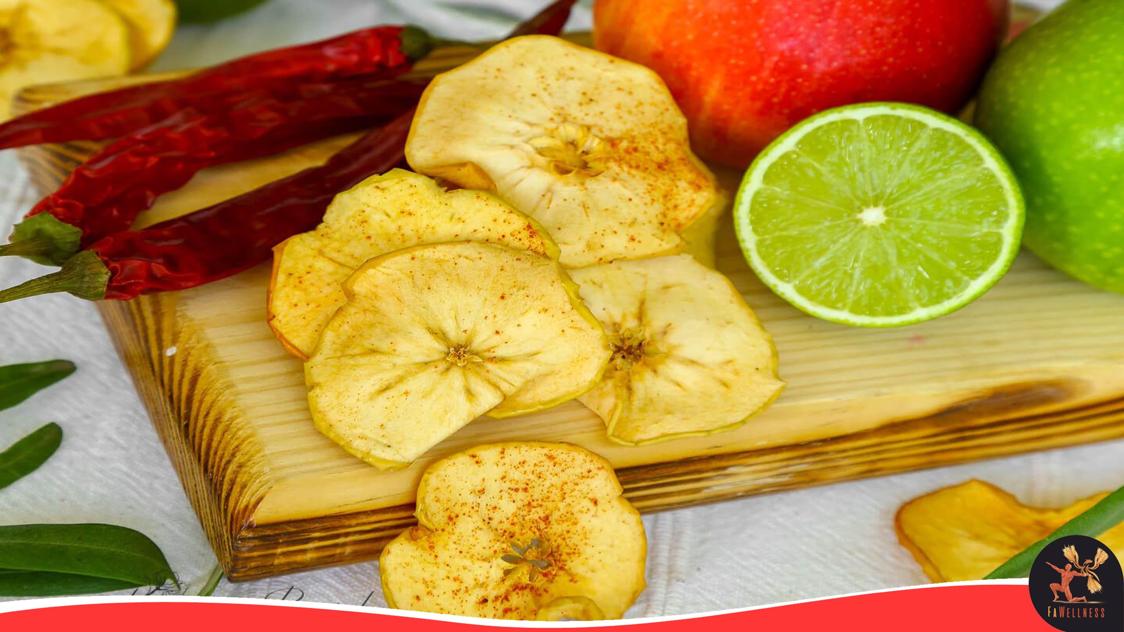 imagen blog FaWellness | Snack de manzana con canela