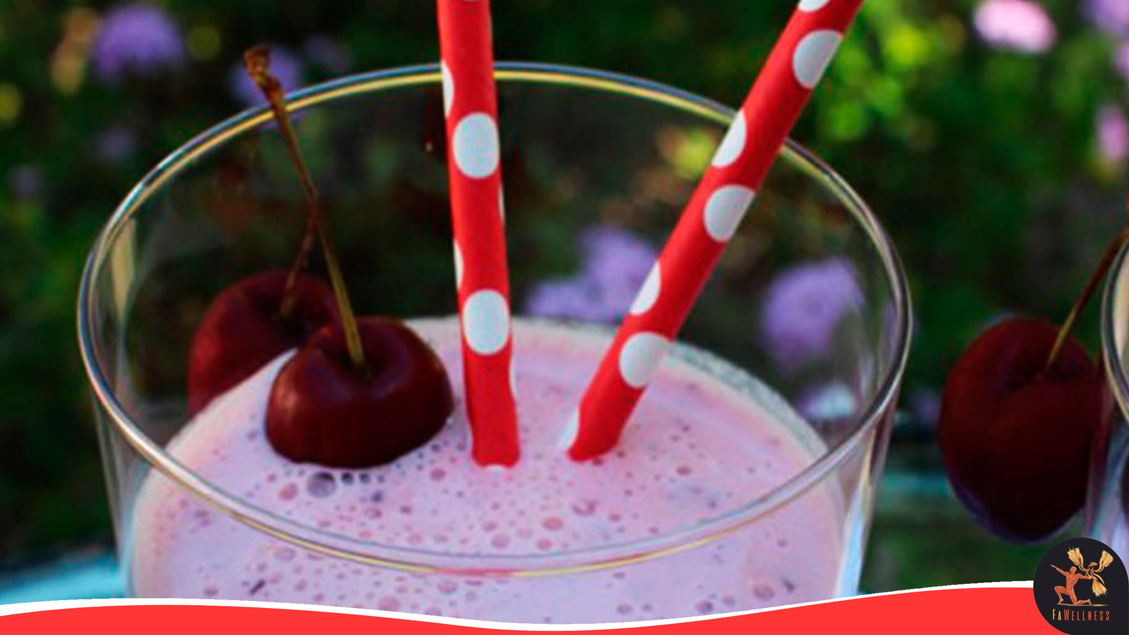 imagen blog FaWellness | Batido de cereza con chocolate