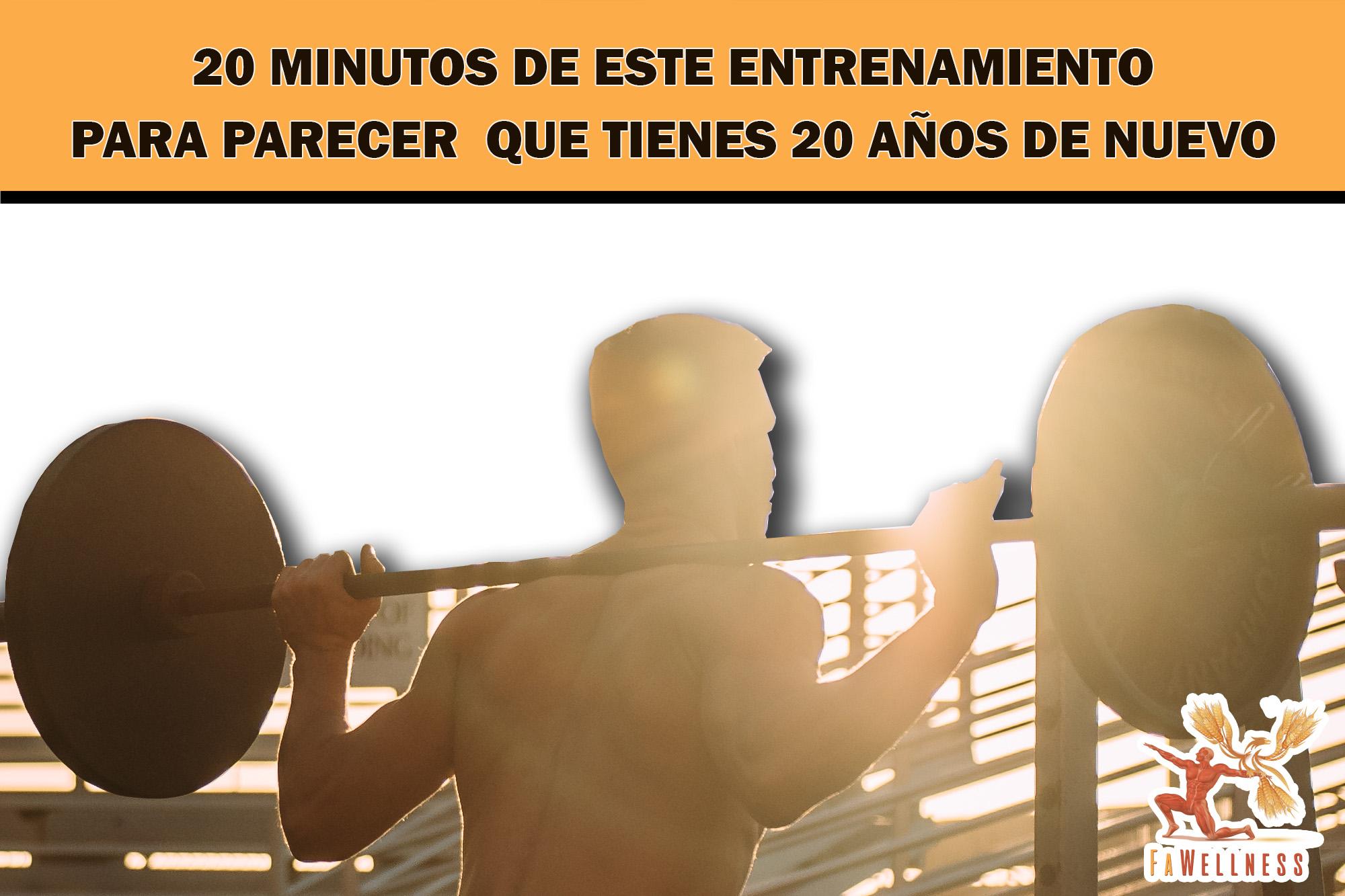 imagen blog FaWellness | 20 MINUTOS DE ESTE ENTRENAMIENTO PARA PARECER QUE TIENES 20 AÑOS DE NUEVO