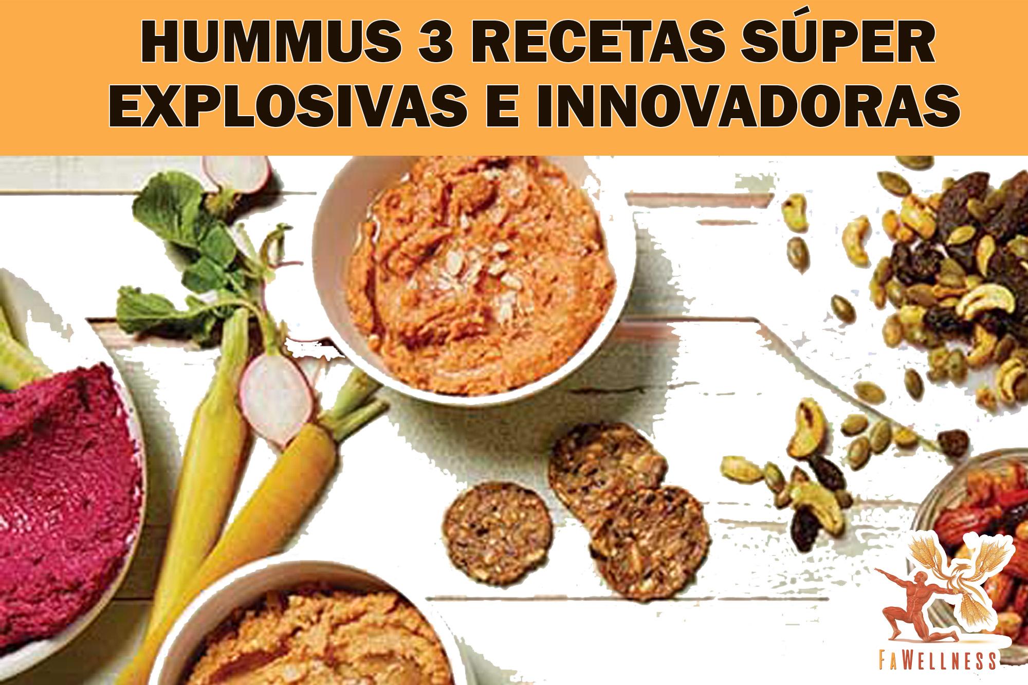 imagen blog FaWellness | HUMMUS  3 Recetas SÚPER EXPLOSIVAS E INNOVADORAS