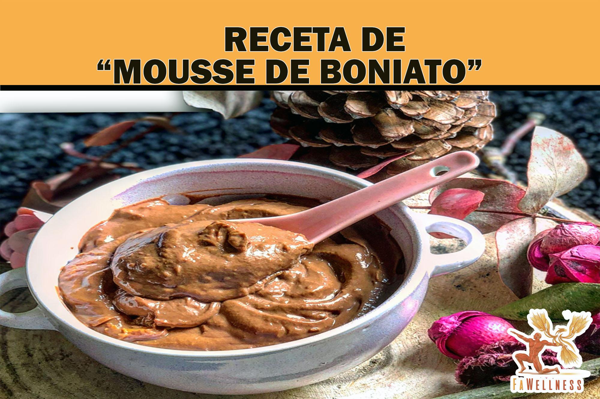 imagen blog FaWellness | MOUSSE DE BONIATO