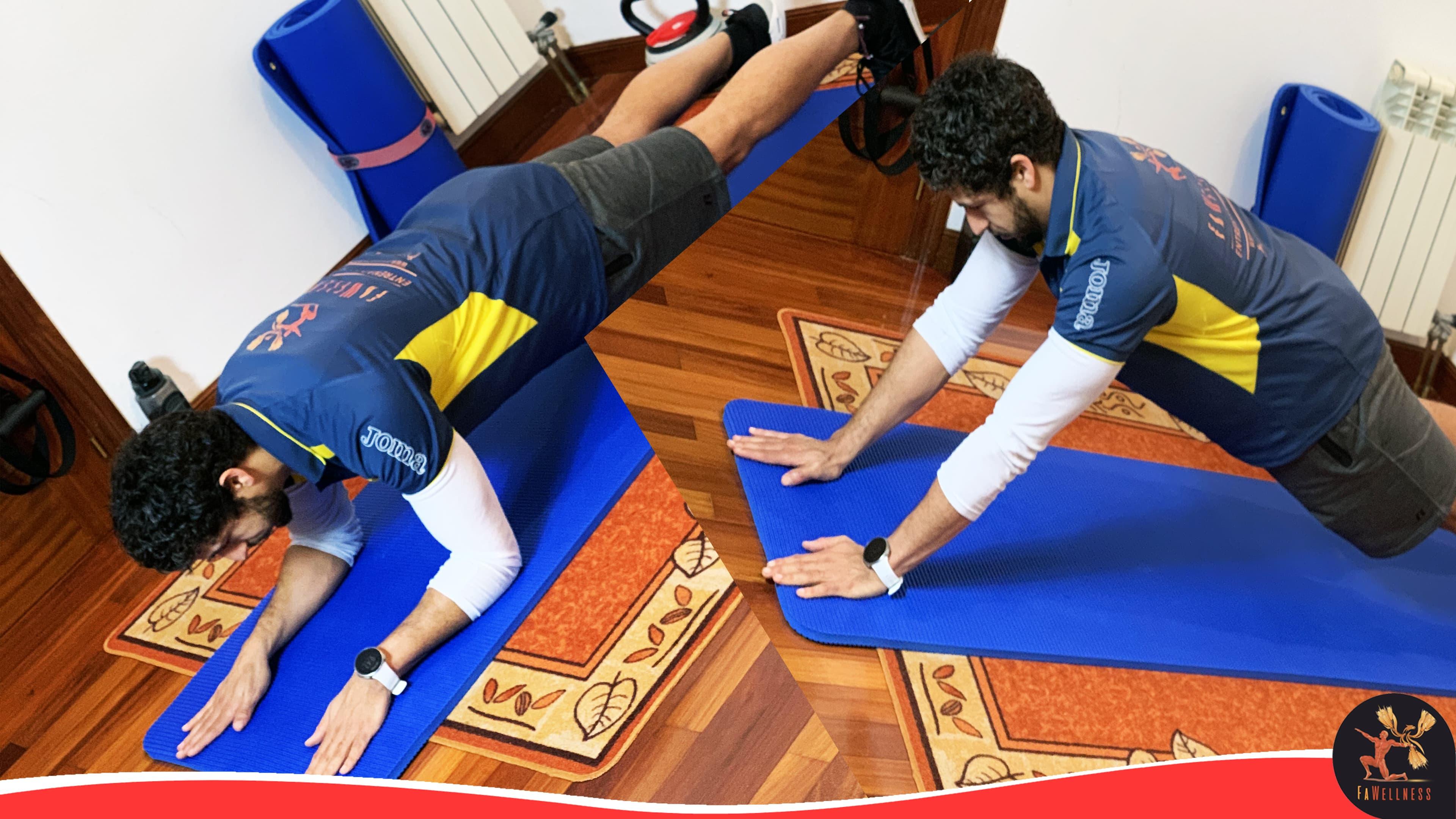 imagen blog FaWellness | Los mejores ejercicios de autocarga para brazos: más músculo de bíceps y tríceps sin pesas
